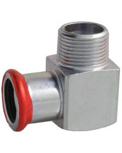 Carbon Steel Short Elbow 90° Adaptor Male thread