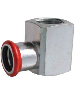 Carbon Steel Short Elbow 90° Adaptor Female thread