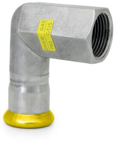 316L Gas Elbow Adaptor 90° with Female Thread