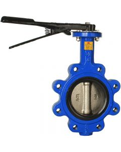 Lugged Butterfly Valve with stainless steel disc
