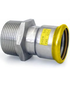 316L Gas Adaptor with Male Thread